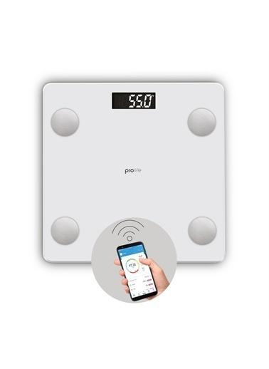 Polo Smart Polosmart Psc12 Prolife Yağ Ölçer Akıllı Bluetooth Tartı Baskül Beyaz Renkli